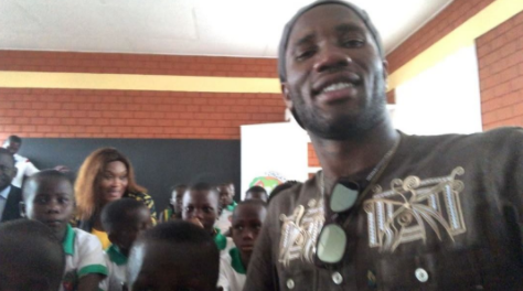 Celebs Who Give Back: Didier Drogba Foundation Builds School For…