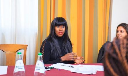 African Celebrities Who Give Back: Stephanie Linus Arrives Italy To Advocate Against Human Trafficking