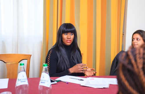 Stephanie Linus Arrives Italy To Advocate Against Human Trafficking