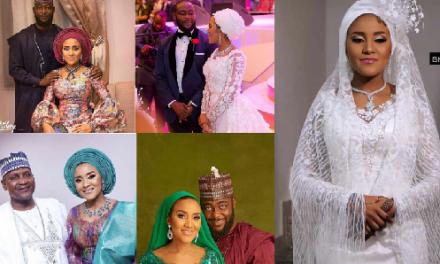 Photos: Jamil Abubakar Weds Fatima Dangote…