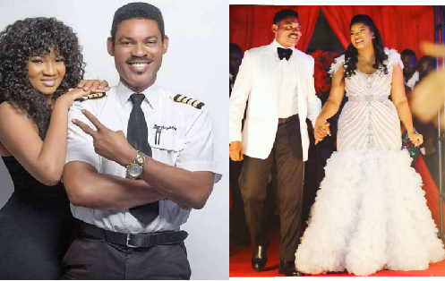 Happy Wedding Anniversary To Omotola Jalade Ekeinde & Captain Matthew Ekeinde