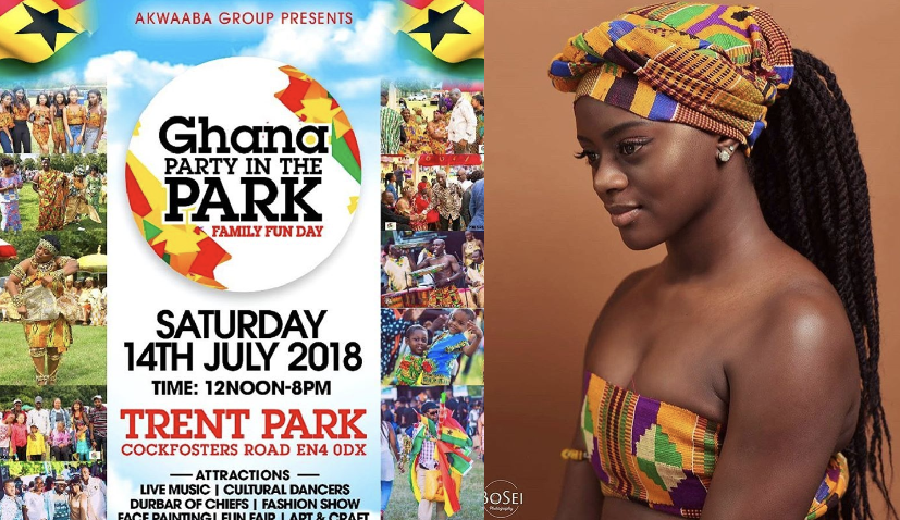 GHANA PARTY IN THE PARK 2018: 14 July 2018 At Trent Park, Enfield