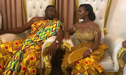 Congratulations! John Dumelo and Mawunya Are Married!