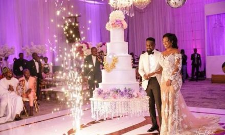 Congratulations! Sarkodie and Tracy Are Married!