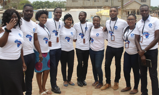 10 Member YALI Team Hold Community Project On Child Abuse In Ghana…