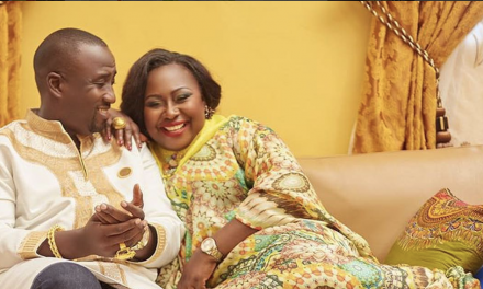 Gifty Anti Celebrates 3rd Wedding Anniversary