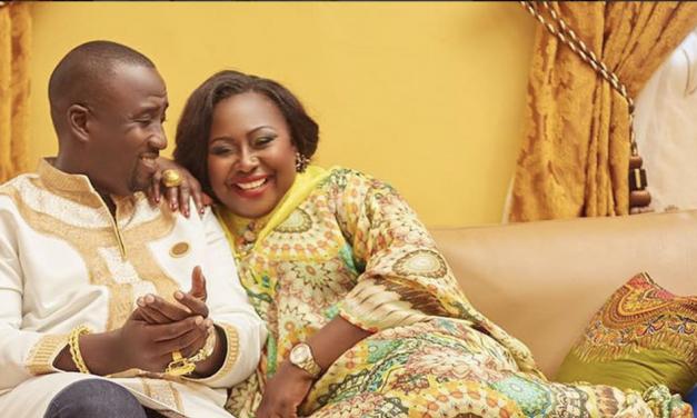 Gifty Anti Celebrates 3rd Wedding Anniversary