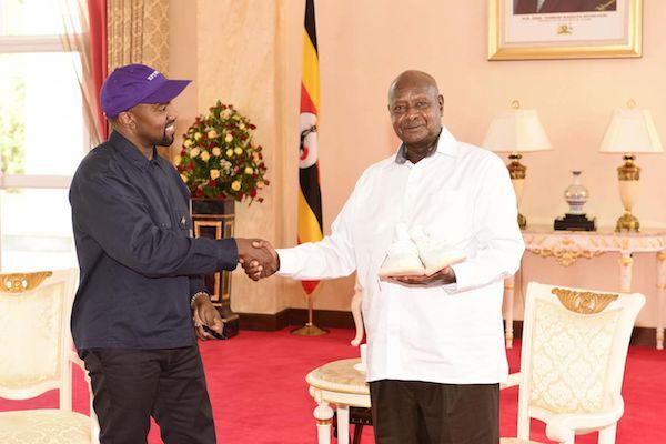Kanye West In Africa … Uganda