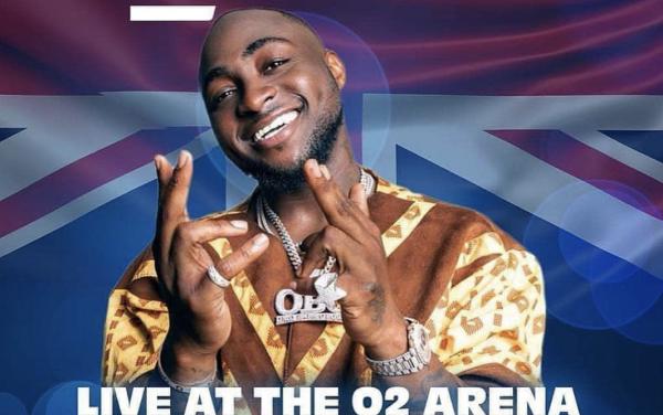 DAVIDO UK TOUR 2019 – LONDON O2arena