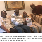 MOBA USA: Old Boys Of Mfantsipim Secondary School In The US  Honor Two Centenarians