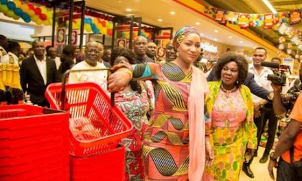 Samira Bawumia: Takoradi Mall Officially Opens To The Public