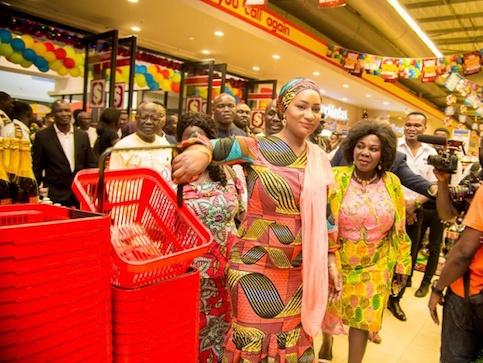Samira Bawumia: Takoradi Mall Officially Opens To The Public