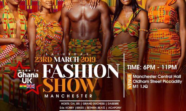 Fashion Show: Made In Ghana UK Fashion Show 2019