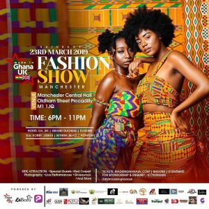 Made in Ghana UK Fashion Show Manchester 2019