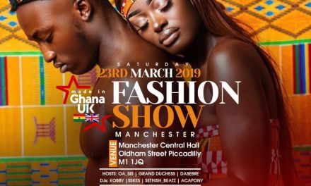 Upcoming Fashion Shows: Made in Ghana UK Fashion Show 2019…