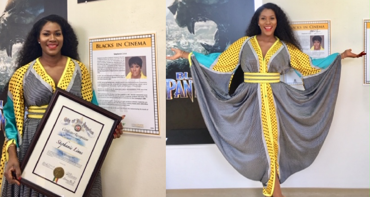 Stephanie Linus Gets Special Recognition for DRY At The Black History Month