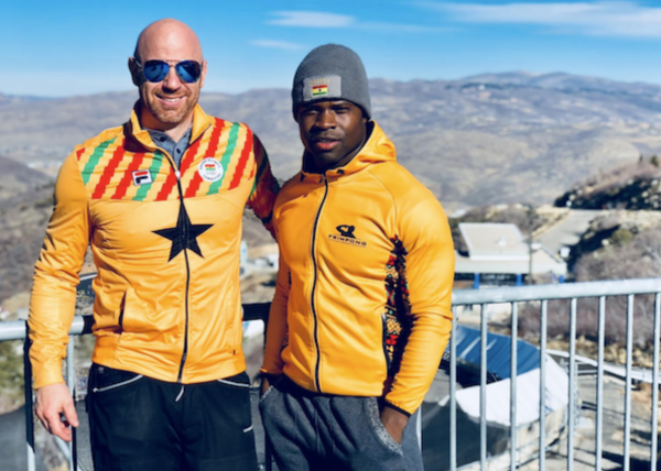 Akwasi Frimpong: Could limited-finance impede Africa's first Winter Olympics medal hopeful?