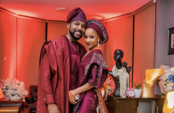 Banky W Gushes Over Wife Adesua 'On The Cover Of Vogue Magazine'