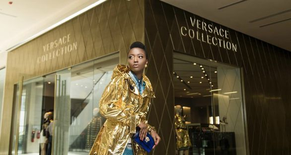 Calling All Shopaholics! Versace Collection To Luxe At The Galleria Mall Accra…