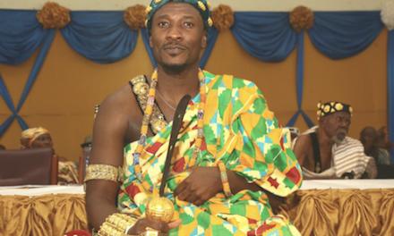 Asamoah Gyan Enstooled 'Ngoriya Doemenyotor' By Gbi Traditional…