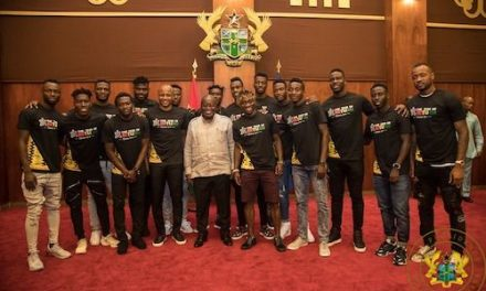 Black Stars Squad Meets President Akufo-Addo  Ahead Of AFCON