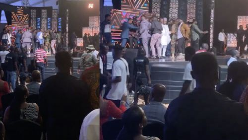 Shatta Wale Fights Stonebwoy At VGMA 2019