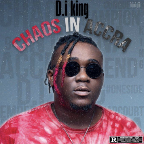 D.i King outdoor a 6-track EP ''Chaos in Accra''