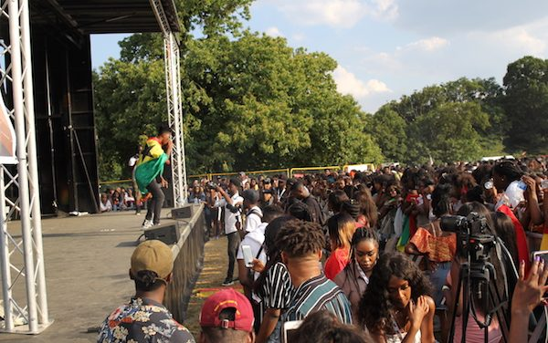 Ghana Party In The Park Live Performance By Kwesi Arthur