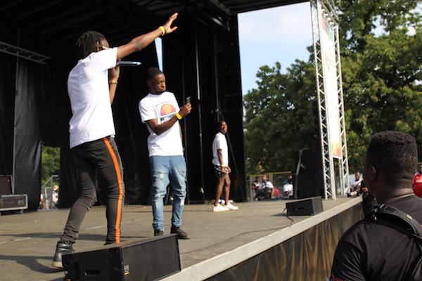 Ghana Party in the park Ghetto Boy