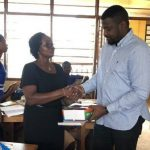 African Celebrities Who Give Back: John Dumelo Donates Stationery To Schools