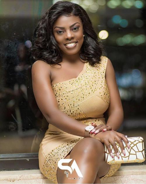 GH One TV Host Nana Aba Anamoah Photo Credit: Swag of Ghana