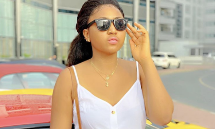Regina Daniels Appointed As ambassador Of Super Eagles Supporters Club