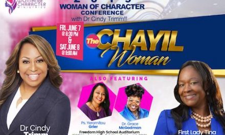 7th Annual Woman of Character Conference in Woodbridge Virginia Features Dr. Cindy Trimm