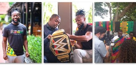 Kofi Kingston WWE Champion
