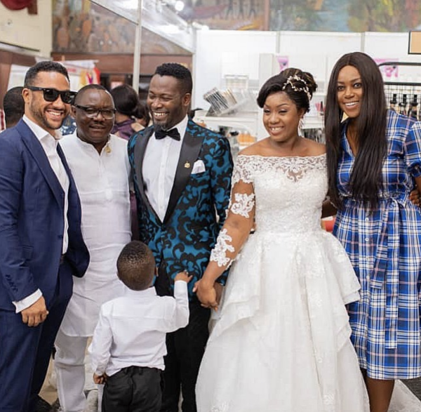 Adjetey Anang wedding