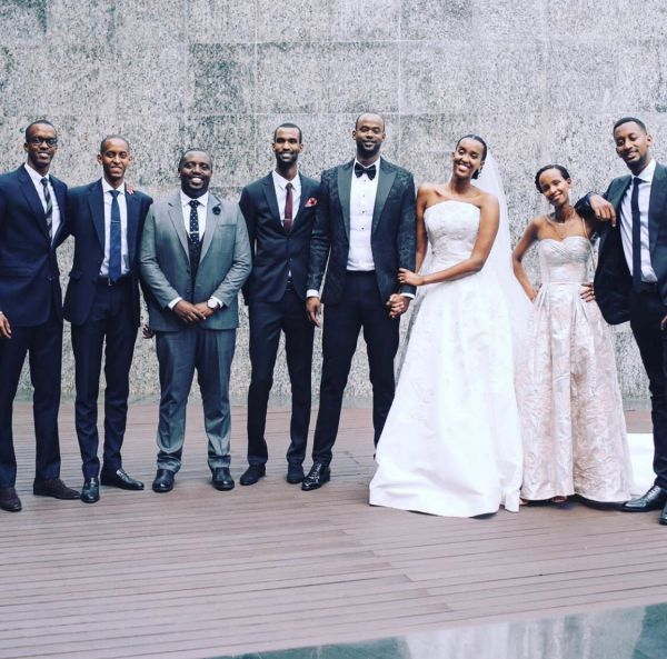 Ange Kagame is married