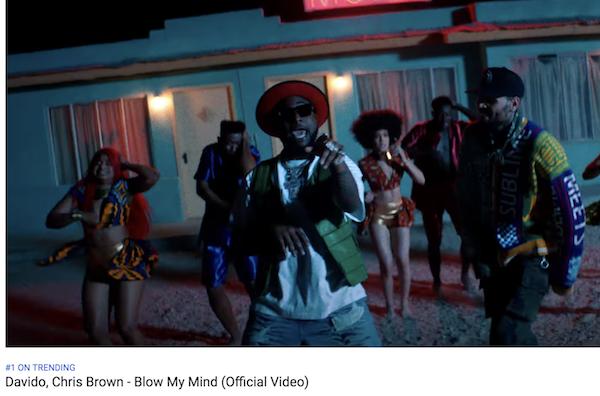 Davido, Chris Brown - Blow My Mind .