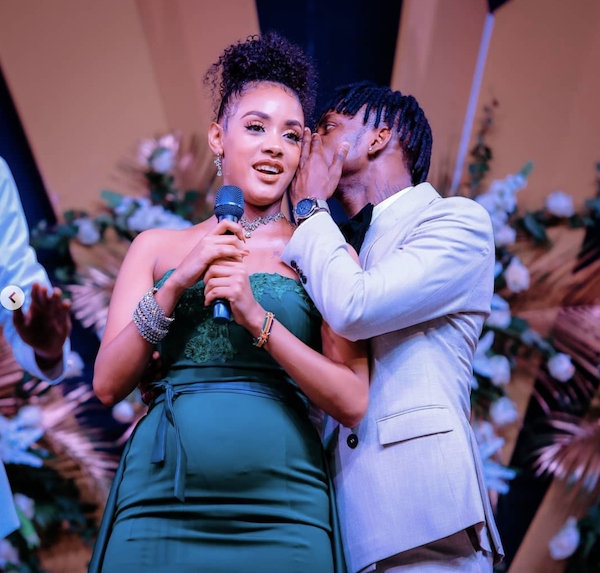 Diamond Platnumz Confirms Tanasha Donna Pregnancy