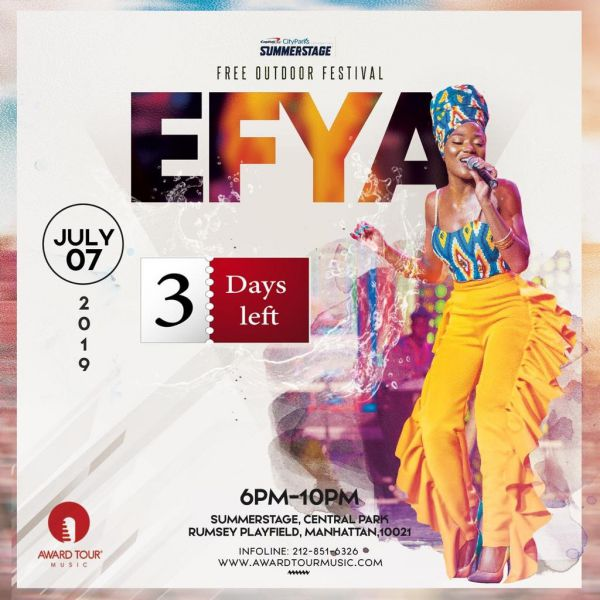Efya Central Park SummerStage