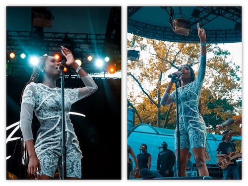 Efya Live Performance At SummerStage In Central Park