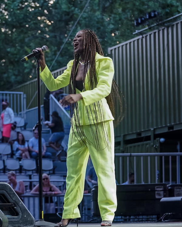 Efya SummerStage In Central Park New York