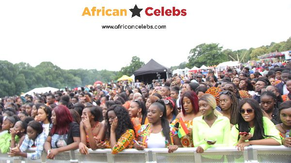 Ghana Party in the Park 2019 crowd