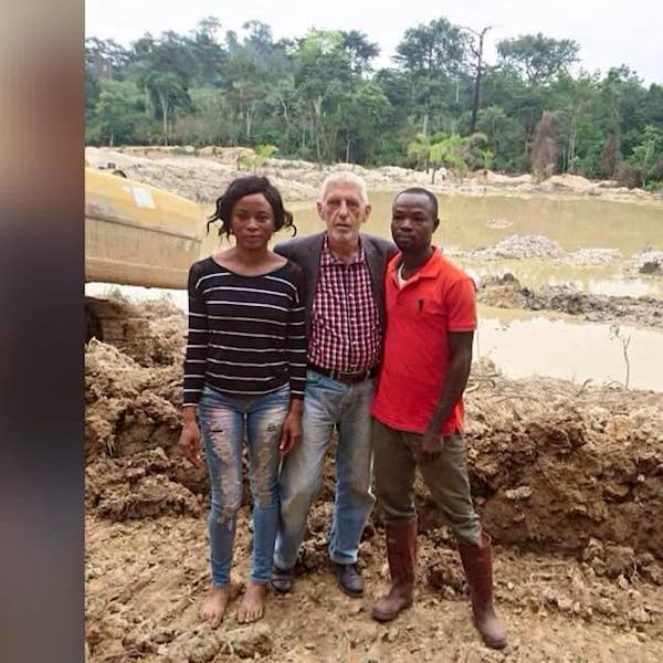 Joana Gyan mining site