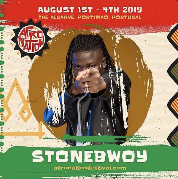 Stonebwoy Shuga European Tour