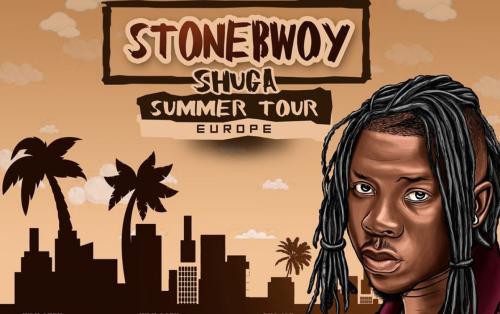 Stonebwoy Shuga European Tour 2019