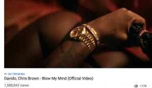 Davido Chris Brown Blow My Mind