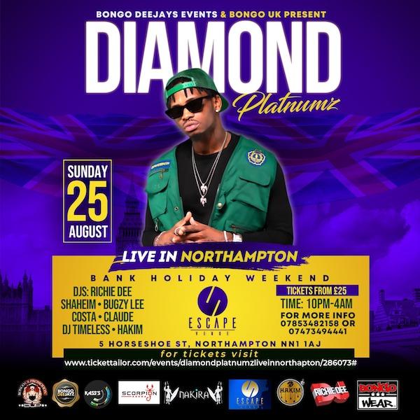 Diamond Platnumz Live Northampton