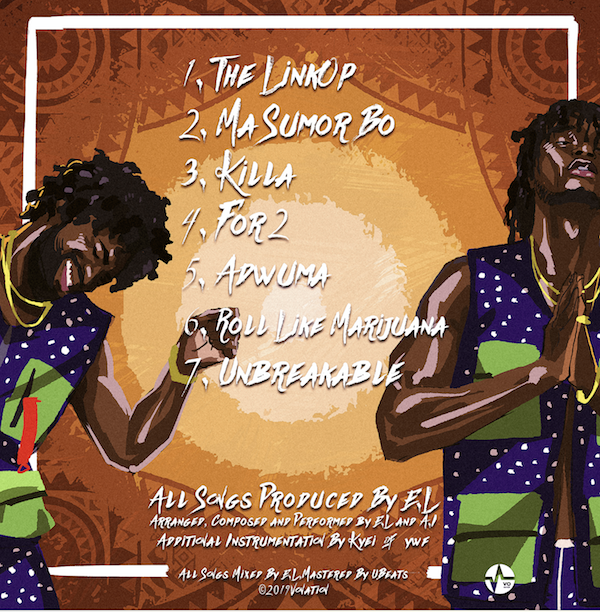 The real story behind E.L & A.I.'s joint EP - The Linkop