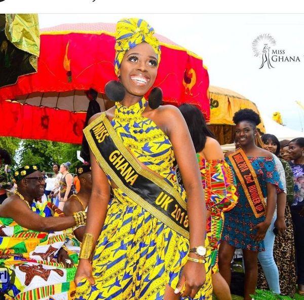 Miss Ghana UK 2018 Akua Ohenwaa Anim