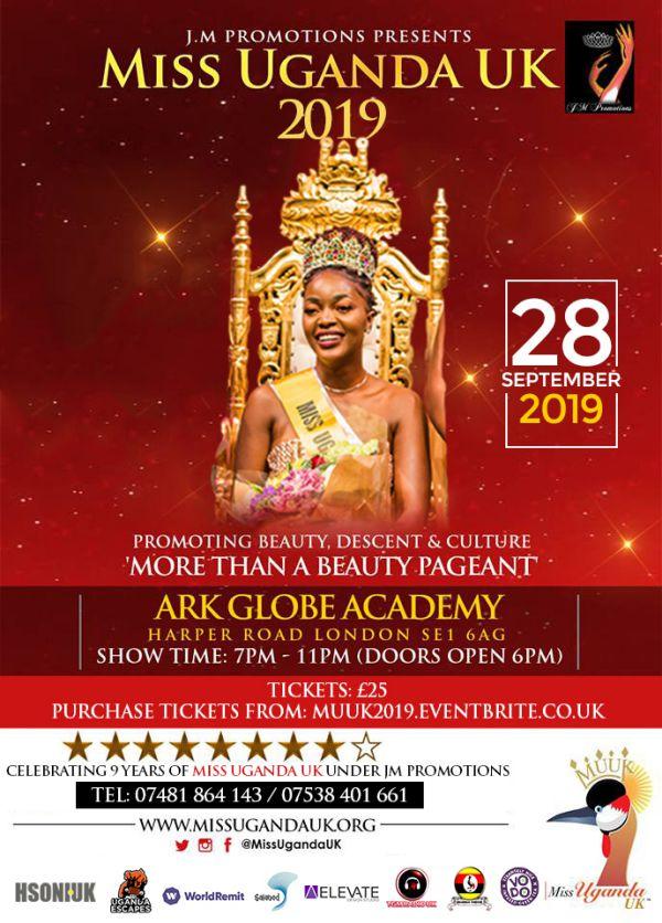 Miss Uganda UK 2019